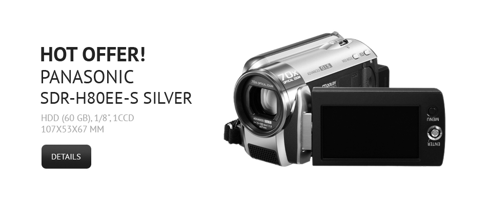 Panasonic SDR-H80EE-S Silver